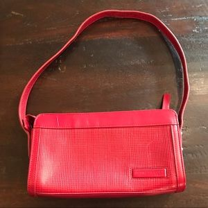 NWOT Kenneth Cole Red Leather Purse